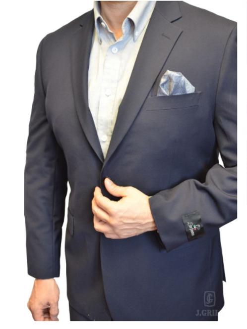 J.GRILL Navy MODERN FIT 2-Piece Suit