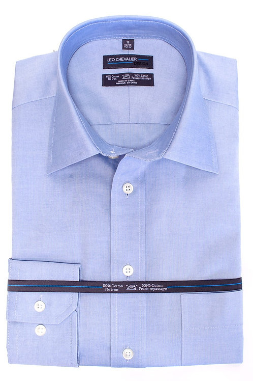 100% Cotton Non Iron Euro Spread Oxford TALL Dress Shirt
