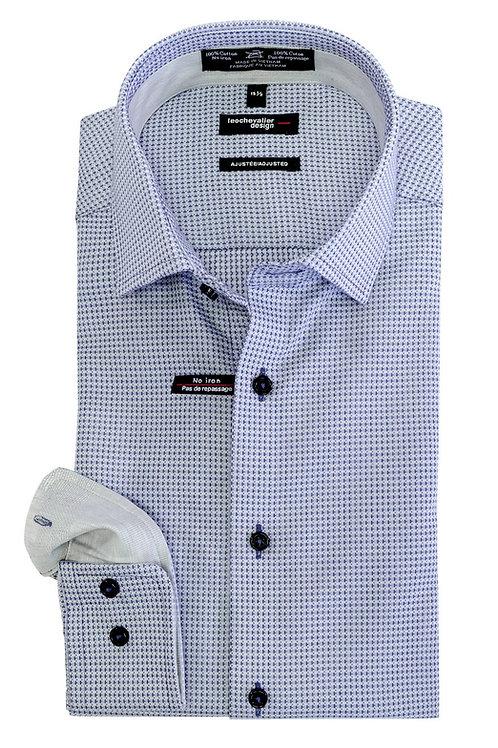 100% Cotton Non-Iron Spread Collar Dress Shirt