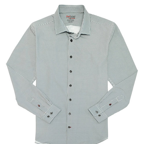 Men's Voyage Fitted Performance Stretch Print Shirt