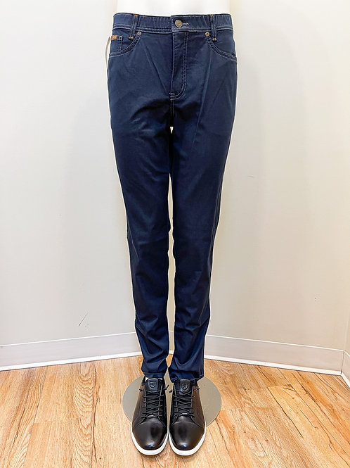 Marco Stretch Faux-Denim Waistband Pants