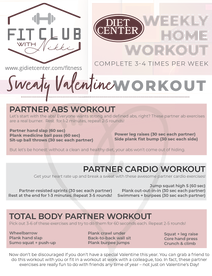 My Sweaty Valentine Workout