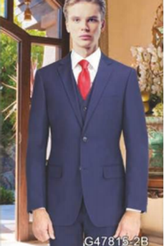 New Navy Suit Seperate Poly-Rayon