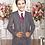 Thumbnail: Boys Vest Full Suit Poly-Rayon