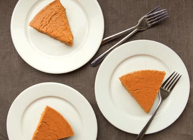 protein packed pumpkin pie