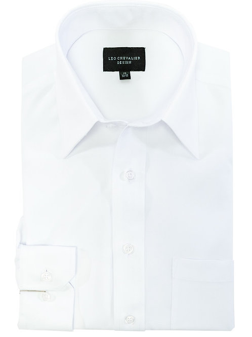 Micro Poly Traditional Spread, TALL Fit Feather Dyed Dress Shirt