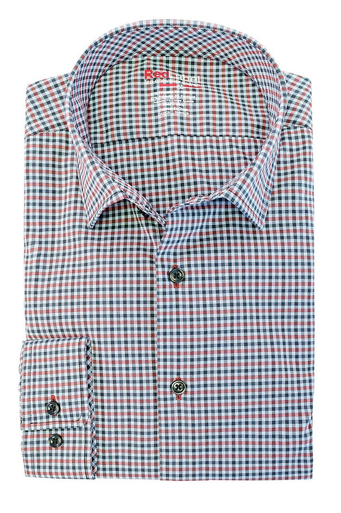 Men's Voyage Fitted Performance Stretch Check Shirt