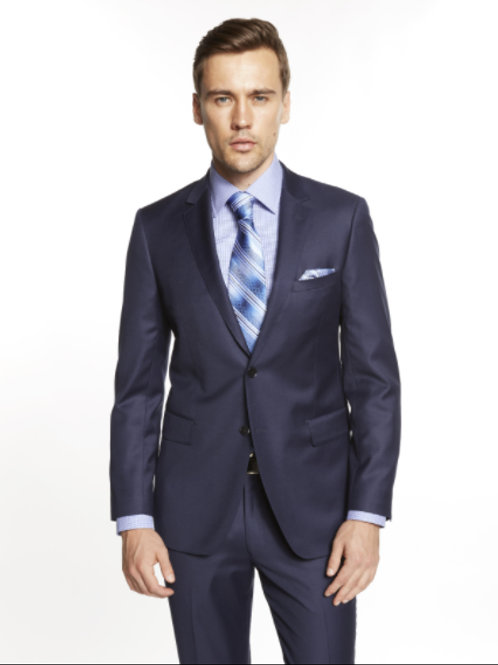 Indigo Blue Suit Seperate Poly-Rayon