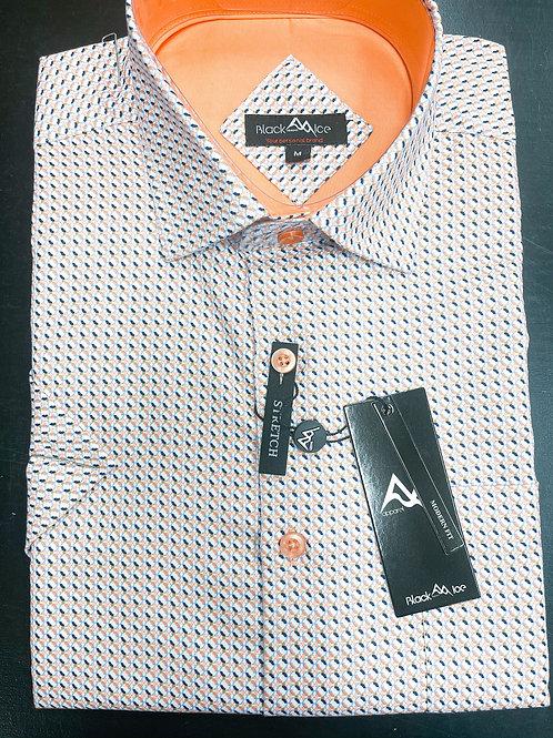 Black Ice Short Sleeve Sport Shirt
