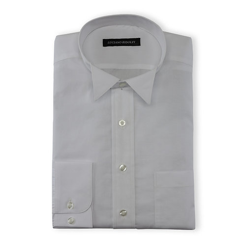 Men's 2 Ply Wingtip Collar Shirt