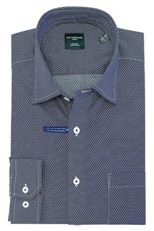100% Cotton Non-Iron Spread Collar TALL Dress Shirt