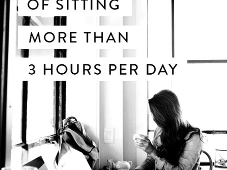 How Sitting Impacts Your Health