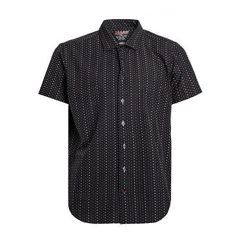 Men's Voyage Fitted Print Performance Stretch Shirt