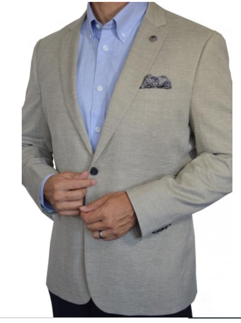 Versatile Men's Linen Look Sport Jacket