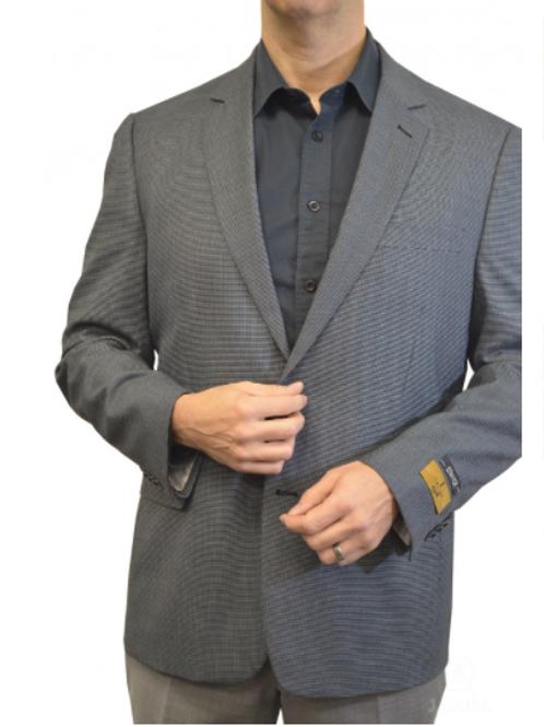 Versatile Men's Mini Houndstooth Pattern Sport Jacket