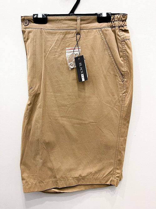 Black Ice Cotton Shorts