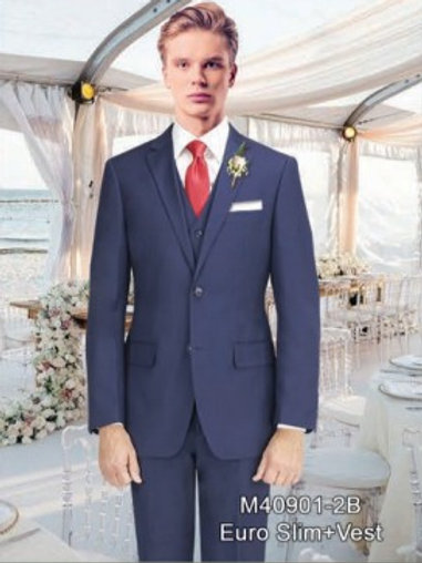 New Navy Suit Seperate 100% Wool