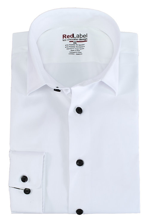 Men's Tall Fitted Performance Stretch Spread Collar