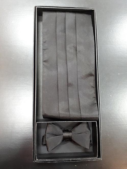 Cummerbund & pre-tied bow tie set