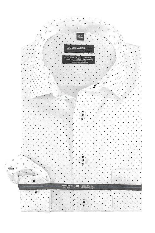 100% Cotton No Iron Spread Collar TALL Dress Shirt