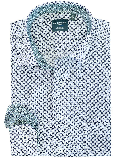 100% Cotton NI Spread Collar Sport Shirt