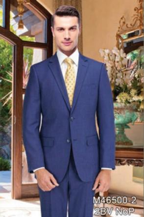 Blue Birdseye Full Suit 100% Wool