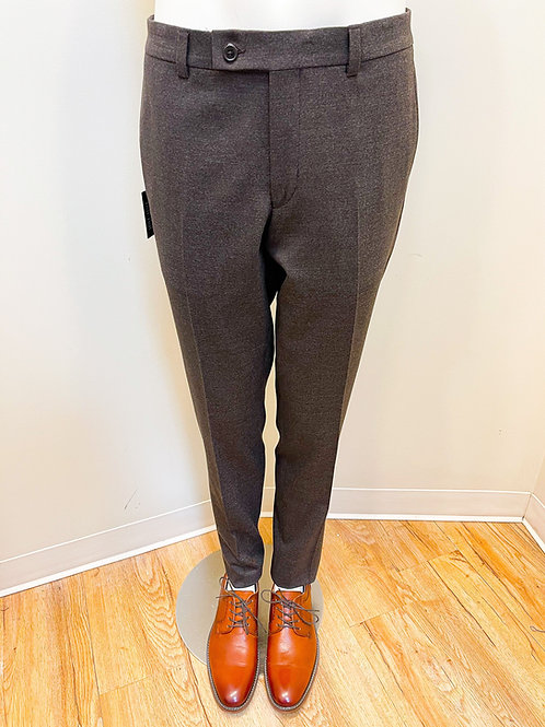 Riviera by Jack Victor Wool Fitted Dress Pants