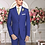 Thumbnail: Solid French Blue Suit Seperate 100% Wool