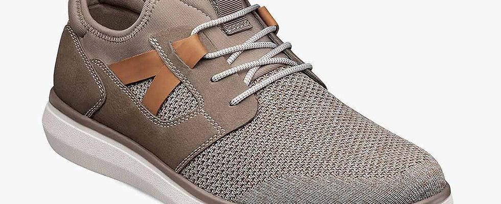 VENTURE  Knit Plain Toe Lace Up Sneaker