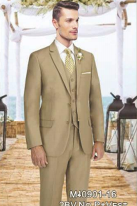 Solid Camel Suit Seperate 100% Wool