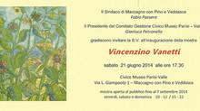 Nuova mostra personale a Maccagno