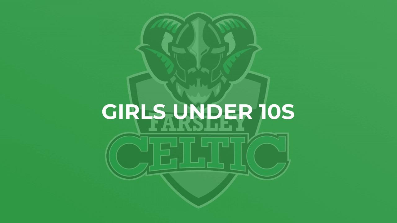 Farsley Celtic Girls Under 10s Football Team Logo