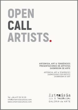 Open call artists