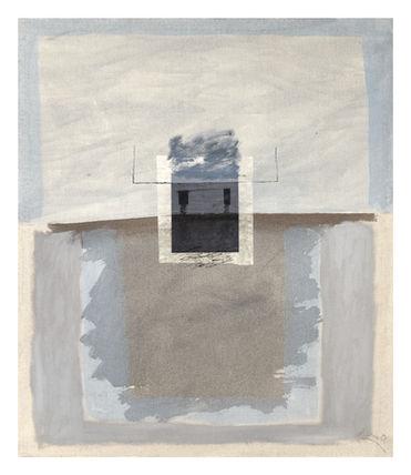 16_9  Fotografia, acrílico y tinta sobre tela I 60 x 70 cm