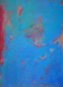Serie mons naixents I - Mixta sobre tela