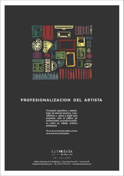 Profesionalización de artistas.