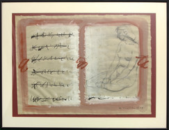 """Pilar Perdices """"Escrito con figura"""""""