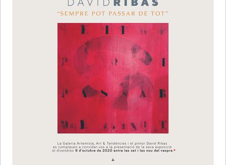 """David Ribas """"Sempre pot passar de tot"""""""