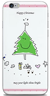 Happy christmas phone skin by Ashley Rice