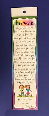 friends like you bookmark by Ashley Rice published by blue mountain arts