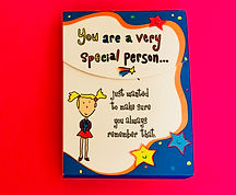 You are a very special person pocket notepad stationery gift by Ashley Rice published by Blue Mountain Arts