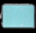 tiny white stars lighlt blue laptop skin with white bow by Ashley Rice