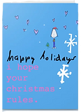 chrstmas card by Ashley Rice