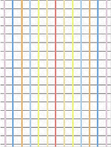 rainbow grid jigsaw puzzle by Ashley Rice