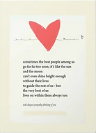 sympathy card by Ashley Rice