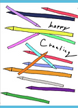 hpp crating greeting card by Ashley Rice