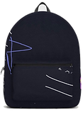 And everywhere a million stars navy backpack by Ashley Rice