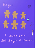 holiday card by Ashley Rice