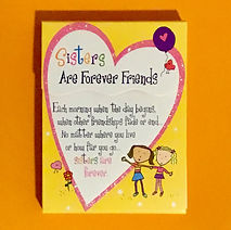 Sites are forever friends magnetic notepad by Ashley Rice publised by Blue mounain arts