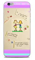 Friends phone case with girl characters and poem by Ashley Rice